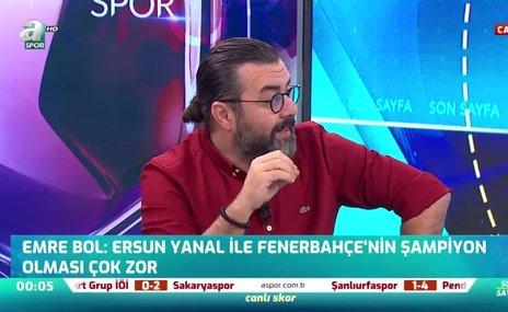 """""""Ali Koç Ersun Yanal'ı takımın başına zoraki getirdi!"""""""