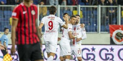 Gençlerbirliği 1-1 Antalyaspor | MAÇ SONUCU