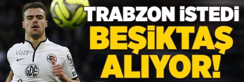 Trabzonspor istedi Beşiktaş alıyor!