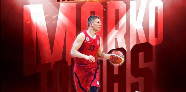 Marko Tomas yeniden Gaziantep Basketbol'da - Basketbol -