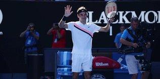Federer çeyrek finale çıktı