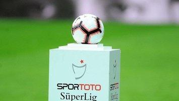 Spor Toto Süper Lig canlı puan durumu