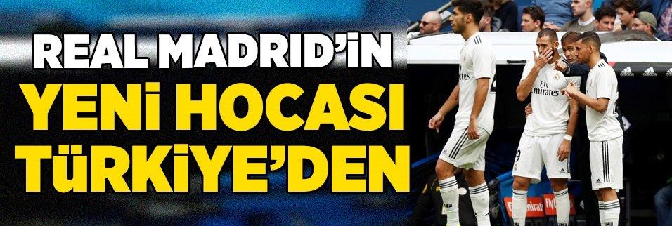 Real Madrid'in yeni hocası Türkiye'den