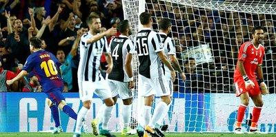 Messi'den bir ilk!