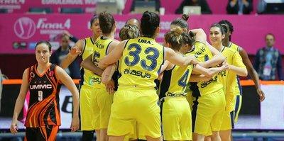 Fenerbahçe, Avrupa şampiyonluğu için sahaya çıkıyor