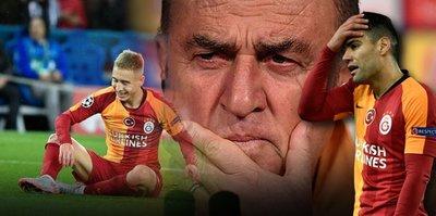 Galatasaray tarihinde görülmemişti! Şampiyonlar Ligi'nde utandıran rakam...