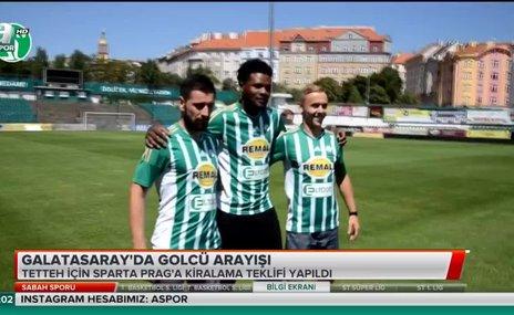 Galatasaray'da golcü arayışı