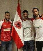 Samsunspor 4 futbolcuyu renklerine bağladı
