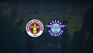 Menemenspor - Adana Demirspor maçı saat kaçta ve hangi kanalda?