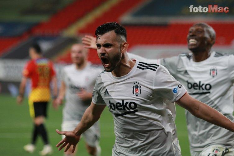 """Son dakika Beşiktaş transfer haberleri: Sergen Yalçın'dan Rachid Ghezzal isyanı! """"Canımı sıkıyorsunuz"""""""