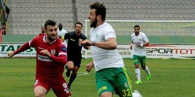 Samsunspor 3'te 3 yaptı