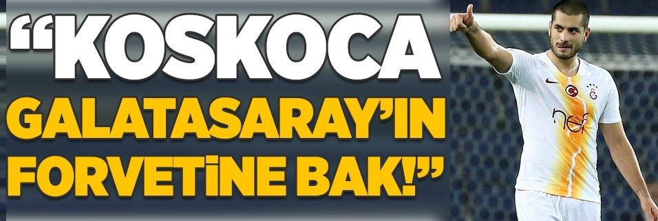 """""""Koskoca Galatasaray'ın forvetine bak!"""""""