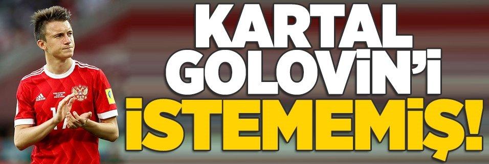 Beşiktaş Golovin'i istememiş!