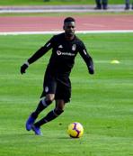 Beşiktaş'ta yeni transfer Mirin ilk antrenmanına çıktı