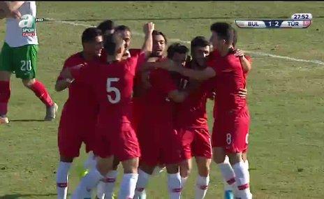 GOL l U19 Türkiye 2 - 1 Bulgaristan