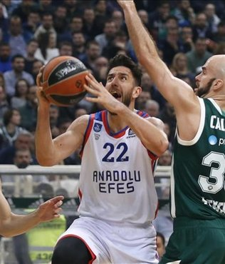 Panathinaikos beat Anadolu Efes