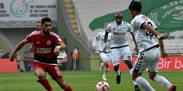 Konyaspor son 16'ya kaldı