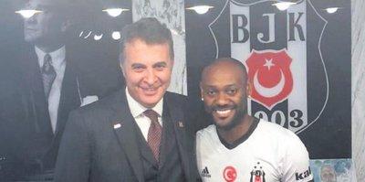 Love resmen Beşiktaş'ta