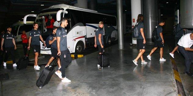 Beşiktaş kafilesi İspanya'da