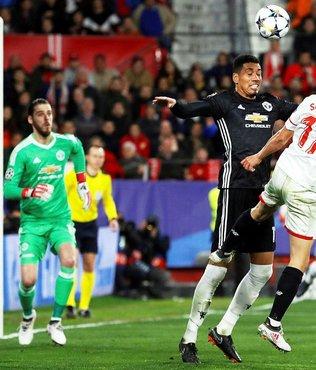 Sevilla - Manchester United maçında gol sesi çıkmadı