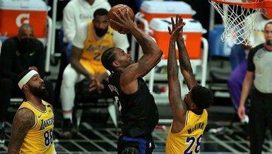 Son dakika spor haberi: Los Angeles Clippers-Los Angeles Lakers: 118-94