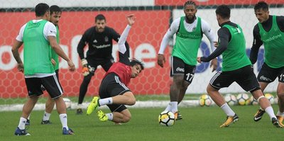 Beşiktaş, Bursaspor'a hazırlanıyor