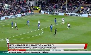 Ryan Babel Fulham'a veda etti