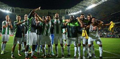 Konyaspor, Vitoria deplasmanında