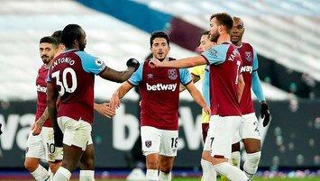 West Ham 3 puanı tek golle aldı!
