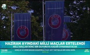 UEFA video konferans yoluyla 55 ülkenin federasyonuyla toplantı gerçekleştirdi