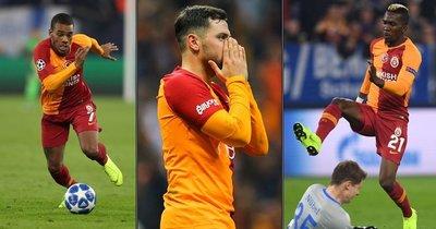 Galatasaray'da 3'lü tehlike!