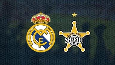 Real Madrid Sheriff maçı saat kaçta hangi kanalda CANLI yayınlanacak?