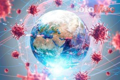 Corona virüsü koronavirüs dünya tablosu! İşte corona virüsünde son durum...