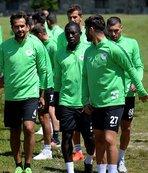 Atiker Konyaspor'un Bolu kampı devam ediyor