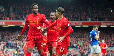 Derbiyi Liverpool kazandı