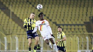 Fenerbahçe Göztepe 0-1 (MAÇ SONUCU - ÖZET)