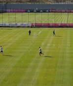 Bayern Münih'ten dikkat çeken idman! Sosyal mesafe...