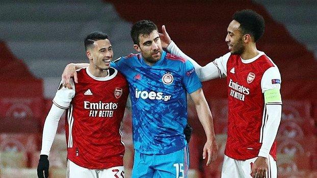 Arsenal Olympiakos 0-1 (MAÇ SONUCU - ÖZET) #