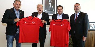İran Futbol Federasyonundan TFF'ye ziyaret