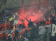 Marsilya - Konya maçında olay