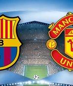 Barcelona Manchester United maçı ne zaman saat kaçta hangi kanalda? Canlı yayın bilgileri, ilk 11'ler, eksik oyuncular...