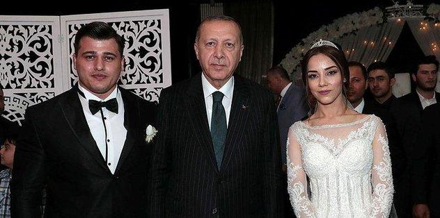 Kayaalp'in nikah şahidi Erdoğan