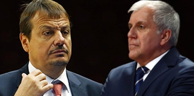 Sürpriz görüşme! Ergin Ataman ve Obradovic...