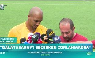 """Nzonzi: """"Galatasaray'ı seçerken zorlanmadım"""""""