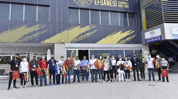 Fenerbahçe Gaziler Günü'ne özel etkinlik düzenledi