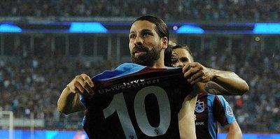 Olcay Şahan Trabzonspor'a veda etti