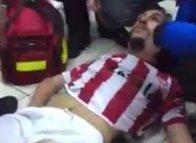 Futbolculara şok saldırı!