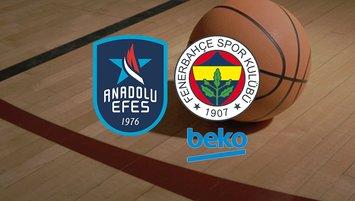 Anadolu Efes - F.Bahçe Beko maçı ne zaman, saat kaçta, hangi kanalda?