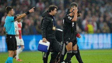 Son dakika spor haberi: Ajax Beşiktaş maçında Umut Meraş sakatlandı!