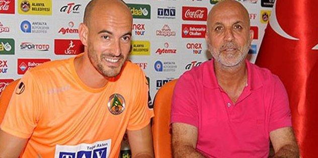 Alanyaspor'da kaleci transferi